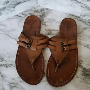 Cole Haan Womens Leather Thong Sandals 7.5